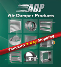 ADP HVAC Air Damper Products