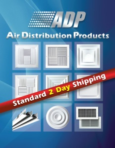 Air Distribution Products (ADP) - HVAC Grilles, Registers